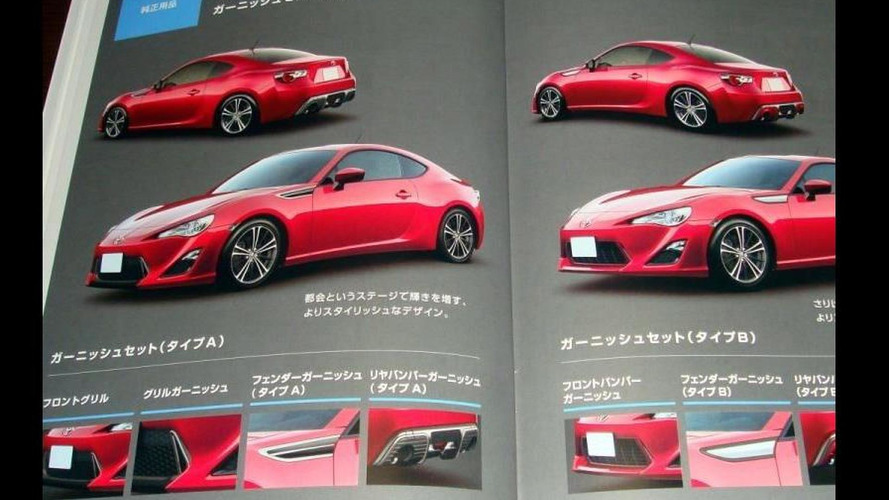 Toyota FT-86 leaked?