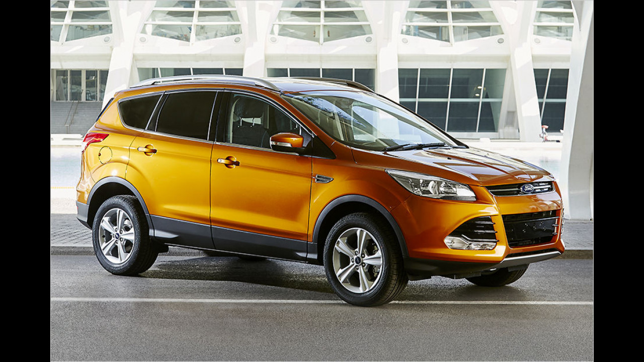 Ford Kuga 1.5 EcoBoost 2x4 Trend (150 PS): 26,1 Prozent