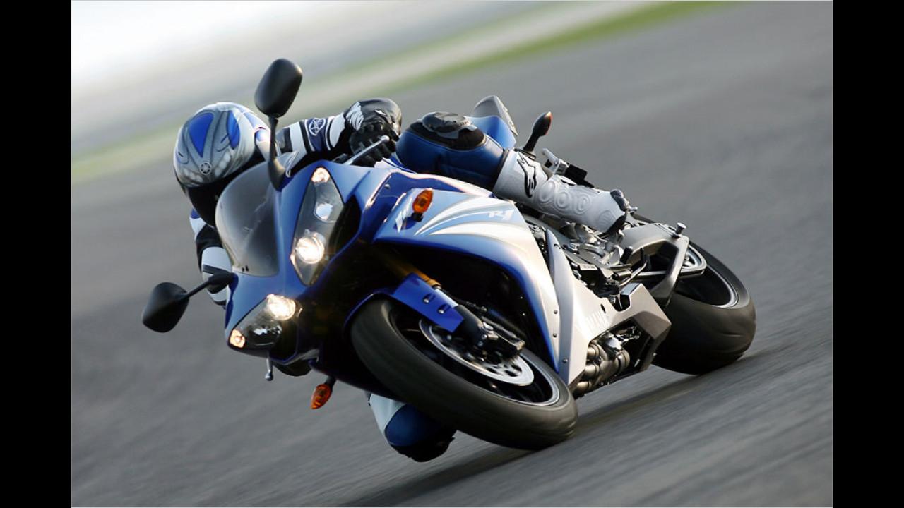 Platz 4: Yamaha YZF-R1, 5.788 Euro