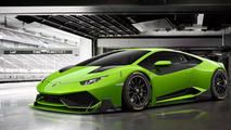 Lamborghini Huracan Super Trofeo gets rendered