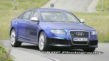 New Audi RS6 Uncovered Spy Photos