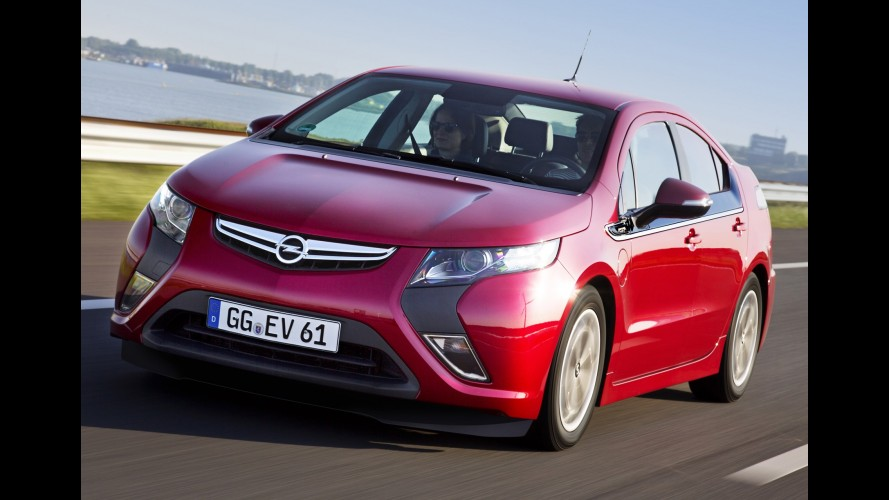 Opel reduz preços do Ampera em até 7,6 mil euros na Europa