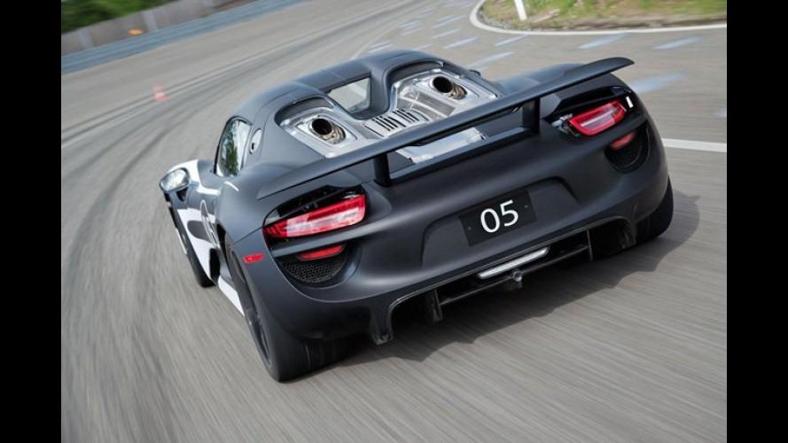 Porsche 918 Spyder Hybrid será lançado em breve - Mais de 780 cv e consumo de 33 km/l