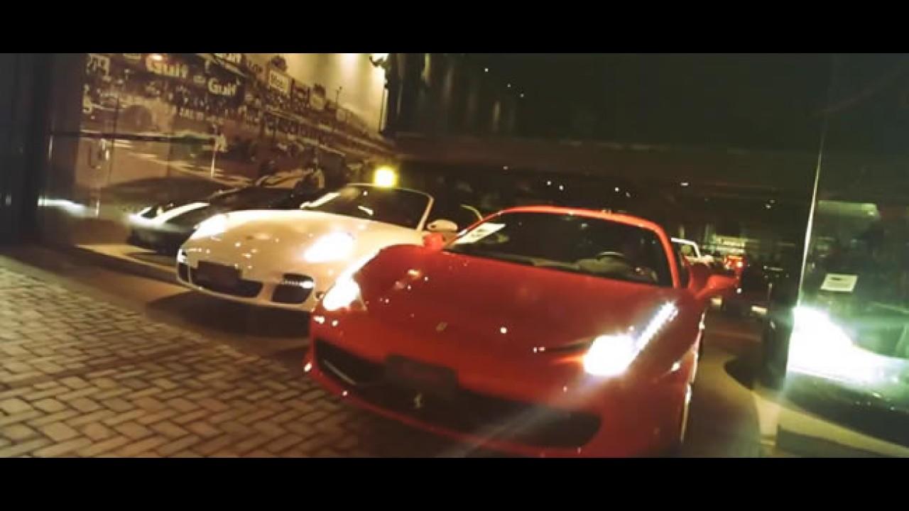 Bufalos TV: Ferrari, McLaren, Lamborghini e Porsche roubados em