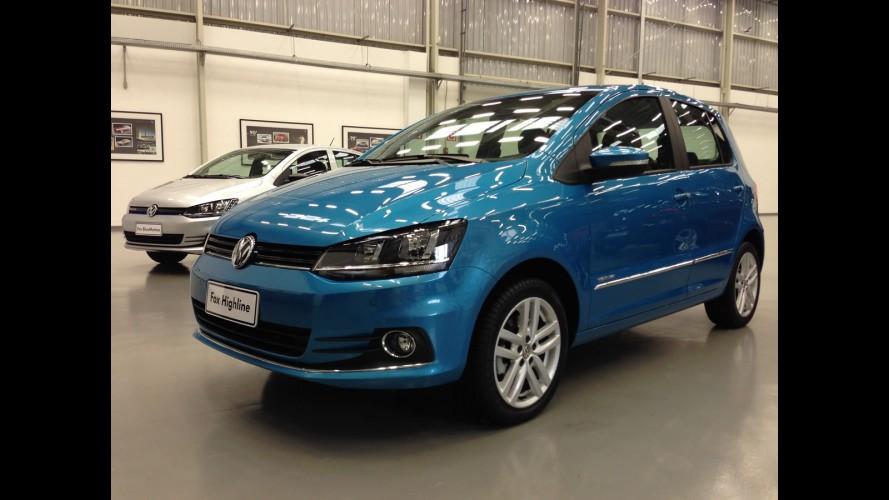 Volkswagen lança novo Fox 2015 e Saveiro cabine dupla - veja preços