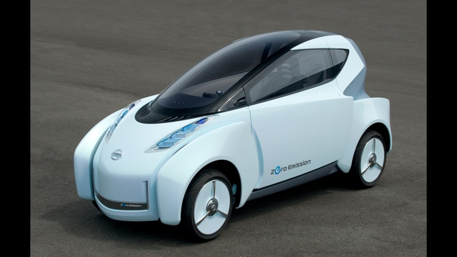 Nissan promete elétrico urbano mais avançado que o Twizy