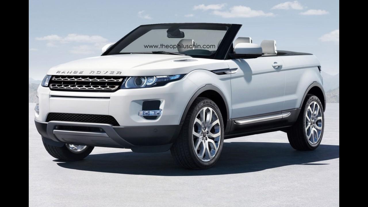 Land Rover Evoque poderá ganhar versão conversível em 2013