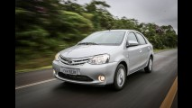 Toyota terá sedã rival do Honda City baseado na plataforma do Etios