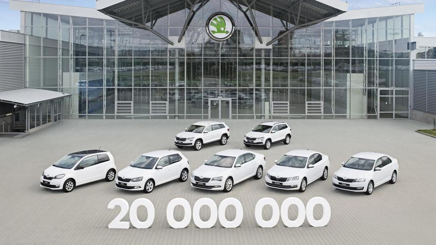 Karoq Is Skoda's 20 Millionth Vehicle