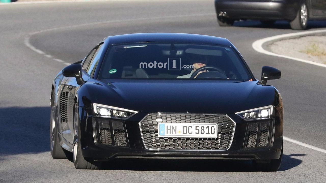Audi R8 GT 2018, fotos espía