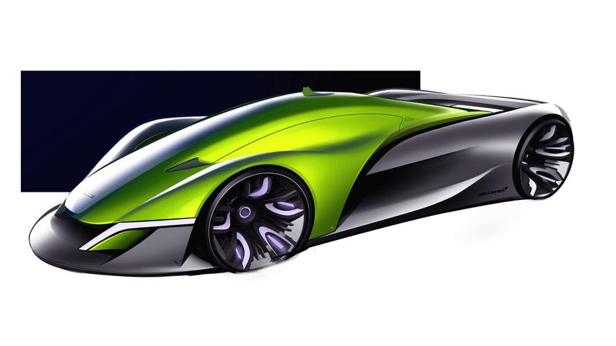 McLaren Halo hiper otomobili 2032 senesi için hayal edildi