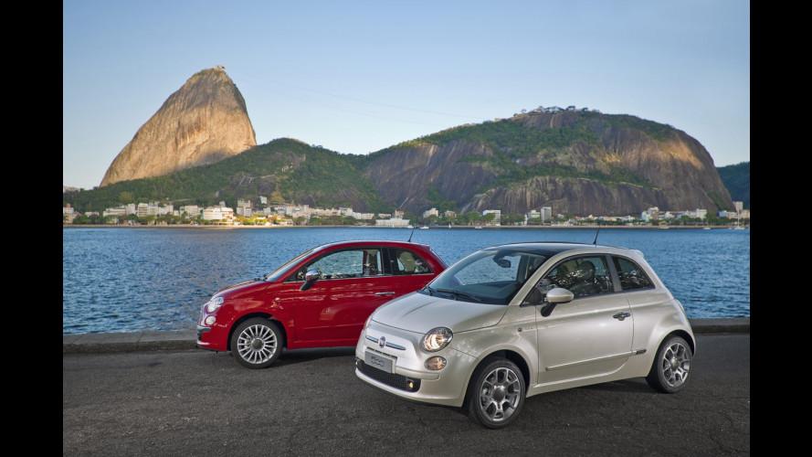 La Fiat 500 sbarca in Brasile