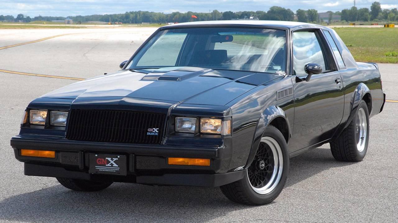 Buick Regal GNX Açık Arttırma