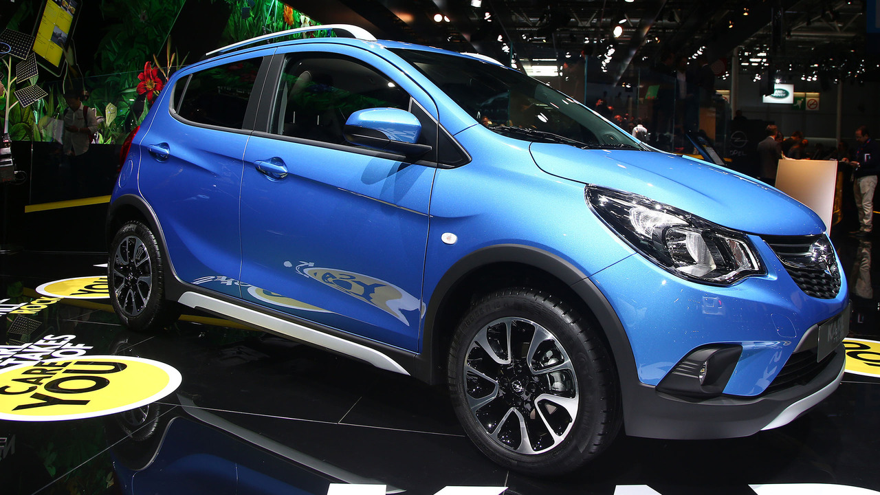 Opel Karl Rocks rolls out for debut in Paris
