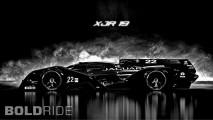 Jaguar XJR-19 LMP1 Concept by Mark Hostler
