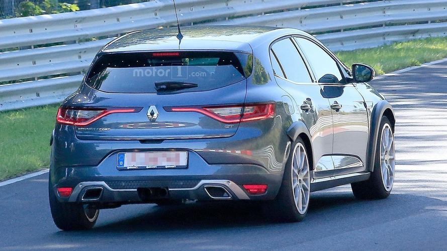 2018 Renault Megane RS photos espion