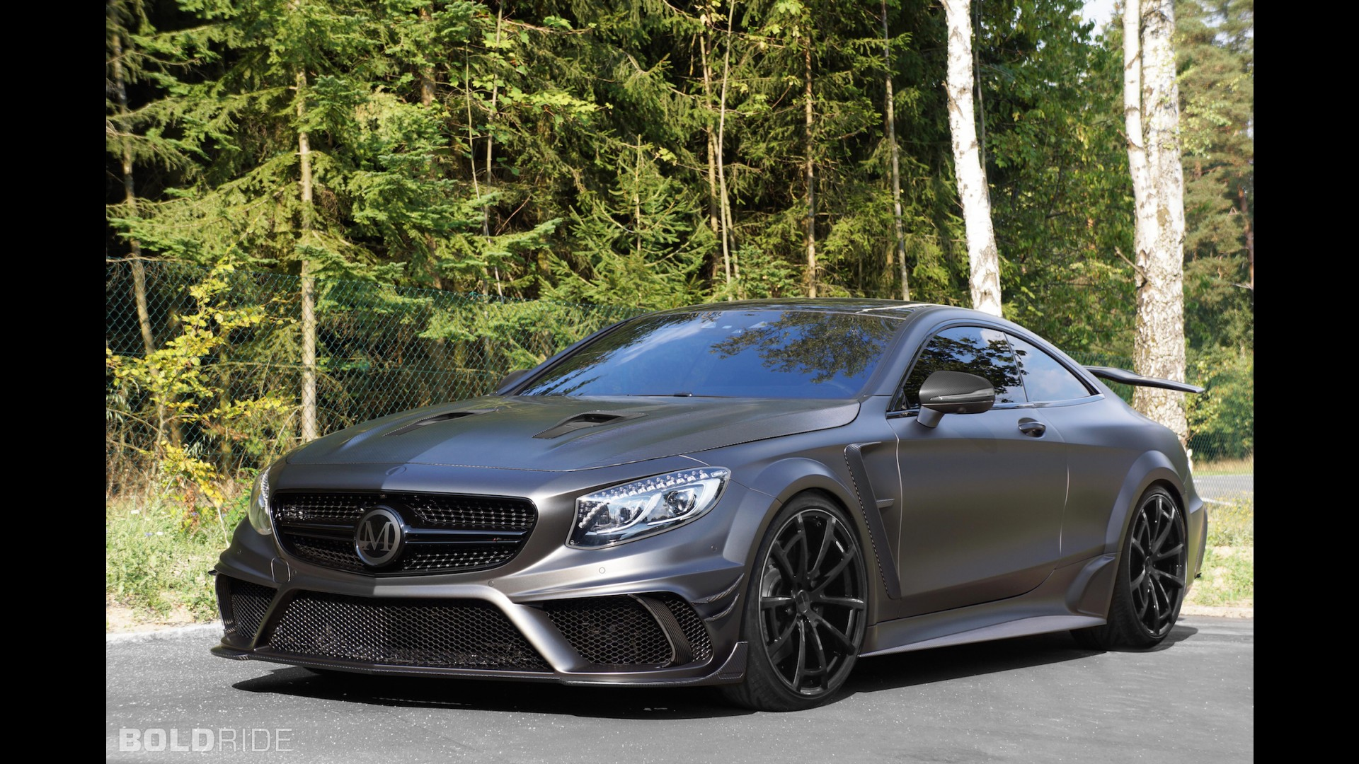 mansory mercedes benz s63 amg coupe black series