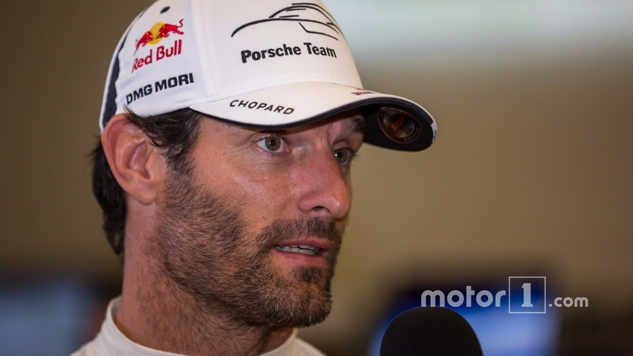 Webber announces retirement from racing after 2016