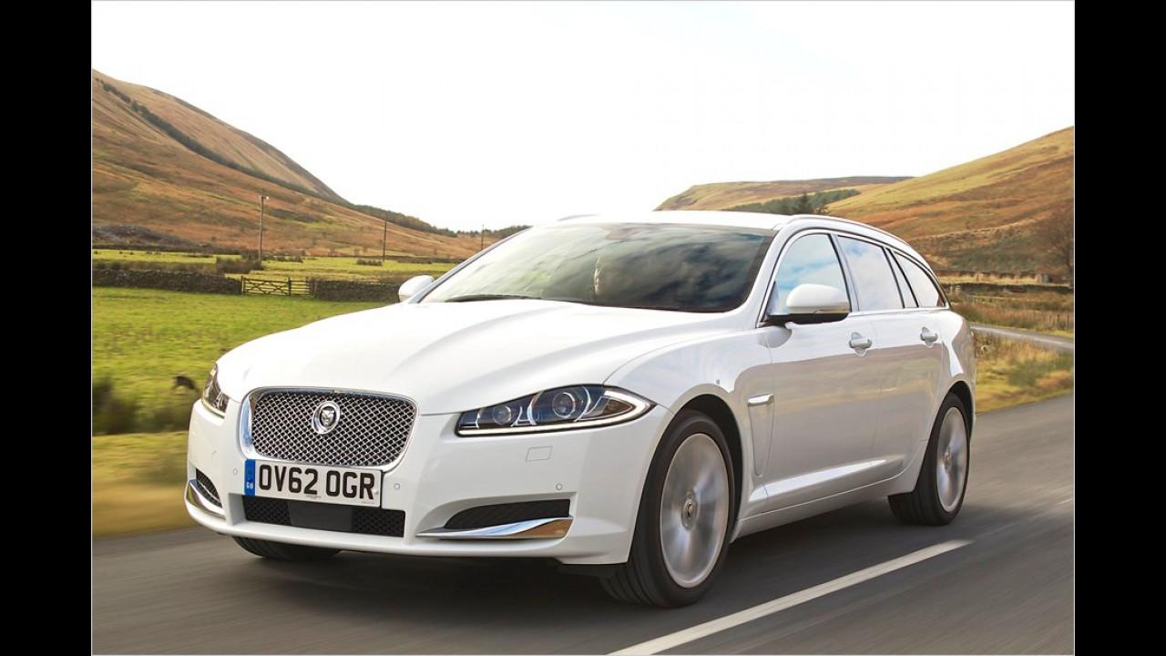 November: Jaguar XF Sportbrake