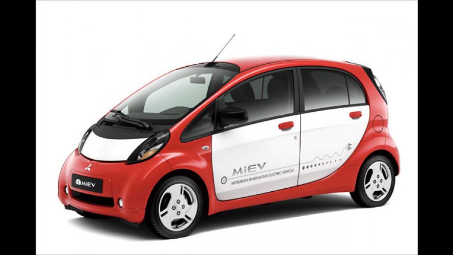 Paris: Premiere für Europaversion des Mitsubishi i-MiEV