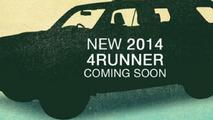2014 Toyota 4Runner teaser image 18.4.2013