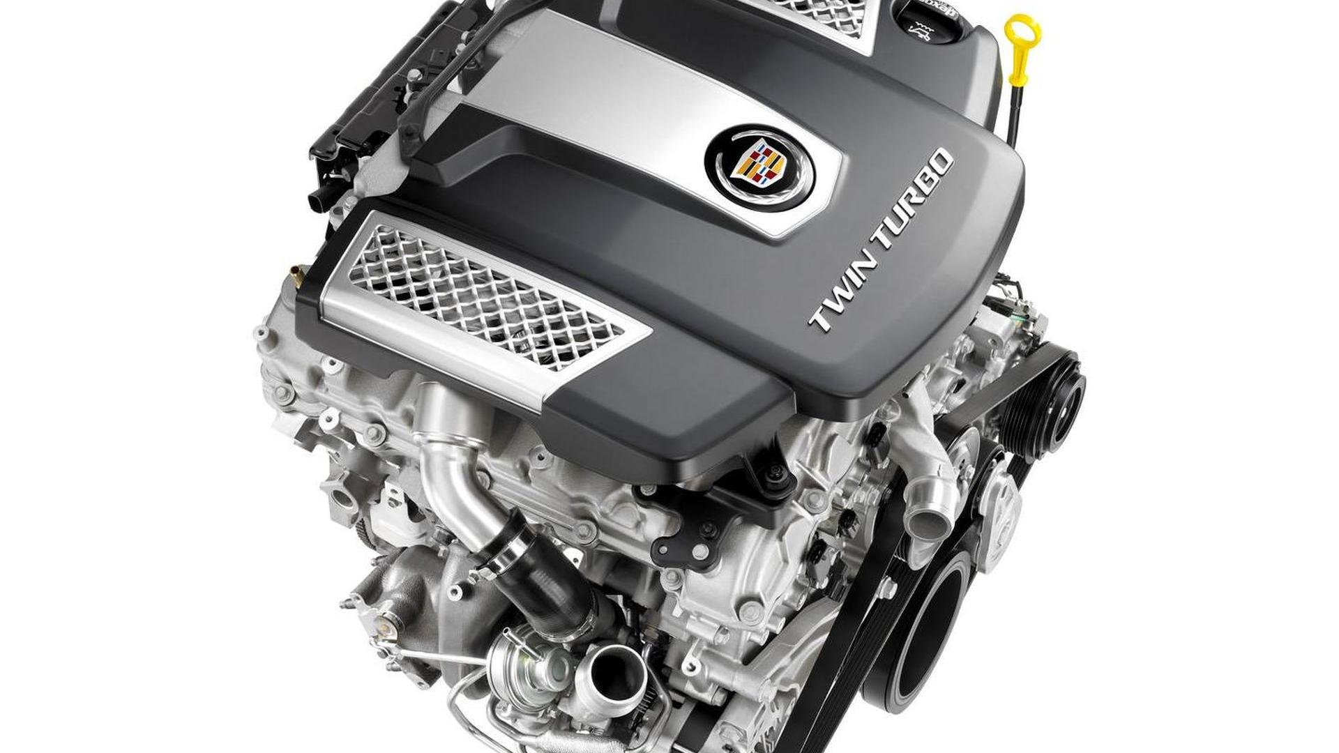 Cadillac 3.6-liter twin-turbo V6 engine gets detailed | Motor1.com