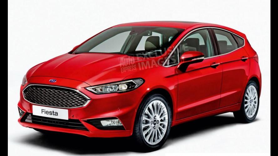 Segredo: nova geração do Ford Fiesta começa a aparecer - veja flagra e projeção