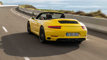Porsche 911 Carrera S Cabriolet 2017 amarillo