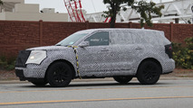 2019 Ford Explorer Spy Shots