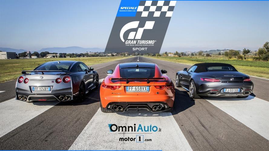 Gran Turismo Sport, dal video gioco alla realtà con una Drag Race!