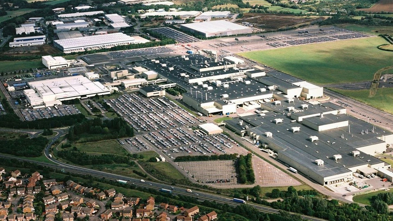 Thr Honda plant in Swindon, UK