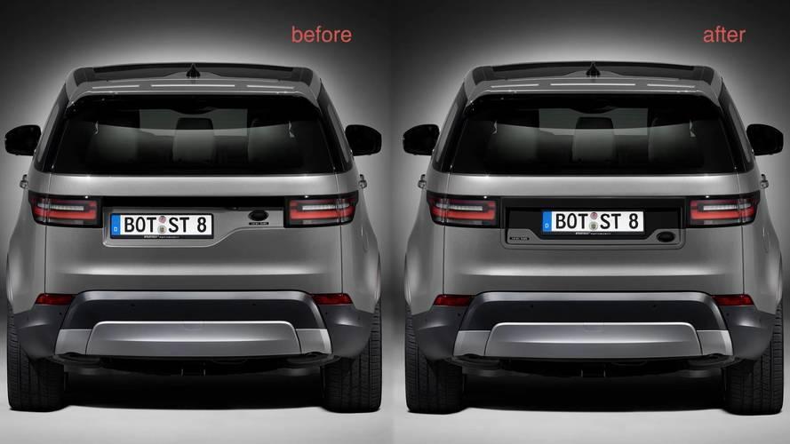 Megoldódtak a Land Rover Discovery rendszámtáblája körüli gondok