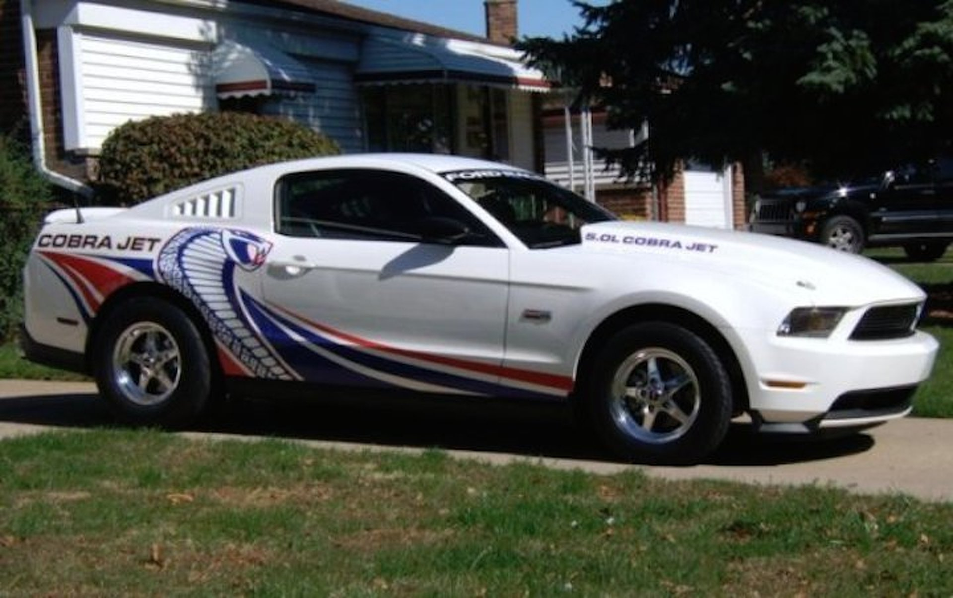 street legal ford mustang cobra jet will fulfill your drag racing dreams for sale. Black Bedroom Furniture Sets. Home Design Ideas