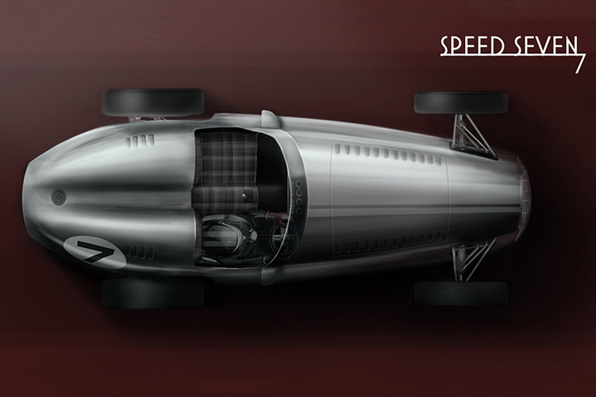 Kahn Design Speed 7 Brings 1930s Racecars Back to Life