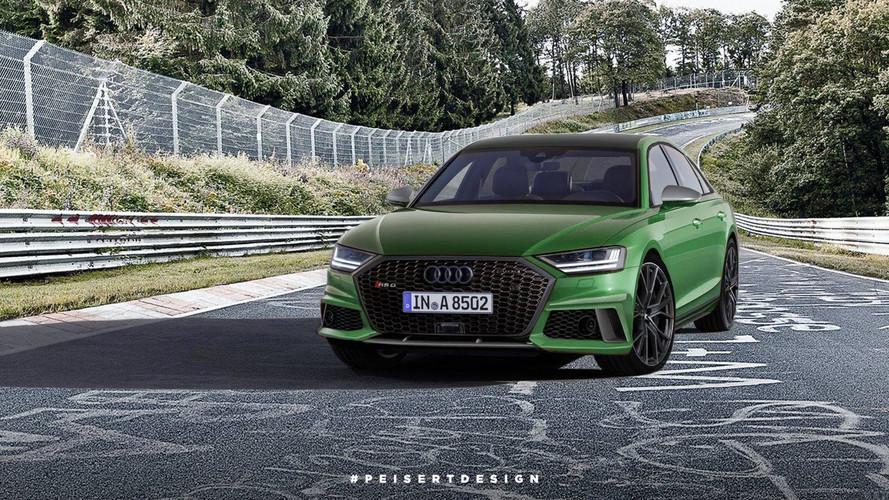 Design - Et pourquoi pas une Audi RS 8 ?
