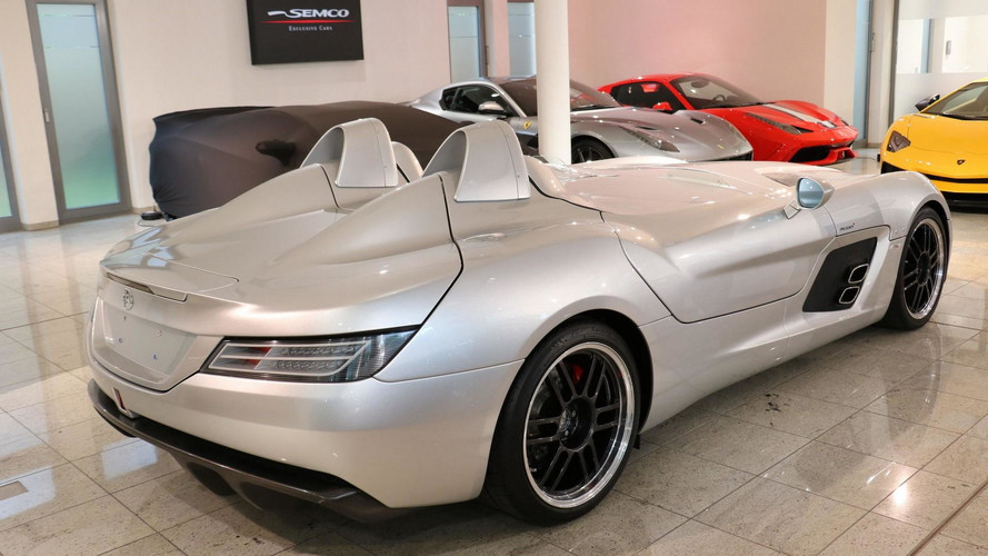 cette tr s rare mercedes slr stirling moss est vendre. Black Bedroom Furniture Sets. Home Design Ideas