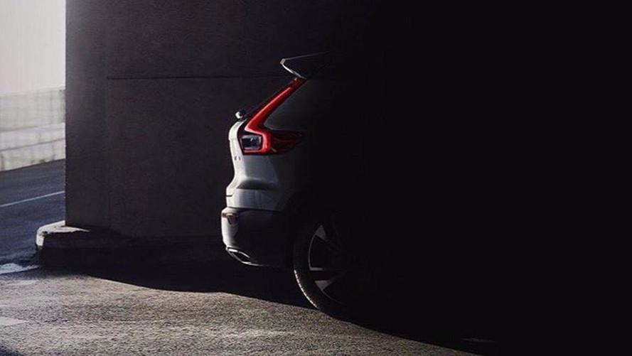 Volvo XC40'ın arka bölümü ortaya çıktı!