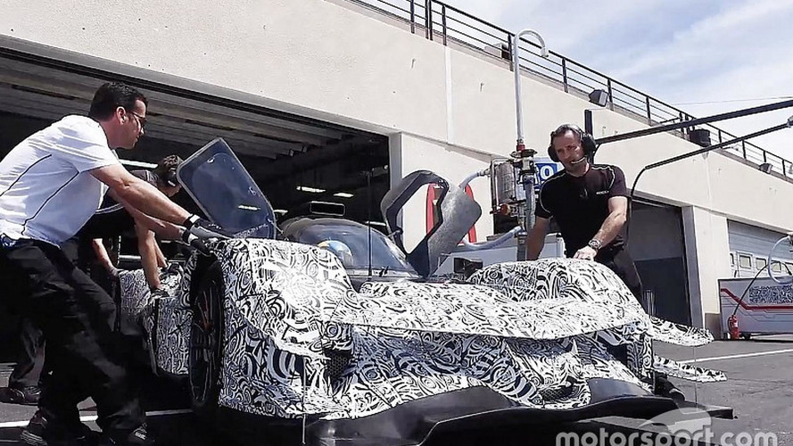 Acura ARX-05 Race Car Begins Testing In Europe