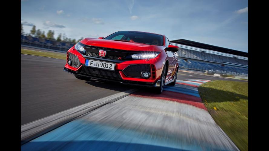 Honda Civic Type R, a caccia di record