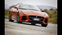 Jaguar F-Type SVR, è sempre un piacere