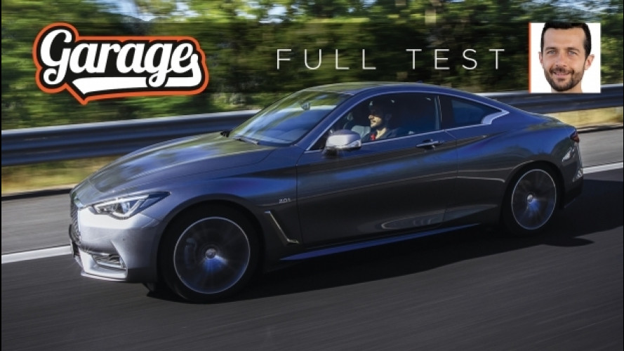 Infiniti Q60, come va la coupé