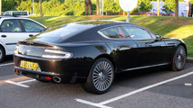 Aston Martin Rapide caught undisguised in parking lot