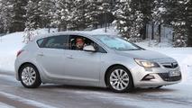 2012 Opel Astra GSI caught undisguised