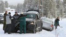 2012 Mercedes-Benz ML-Class rescue spy photos - 25.01.2010