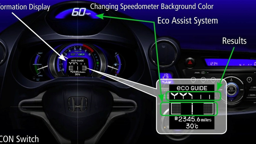 Honda Insight Ecological Drive Assist System Debuts at L.A. Auto Show