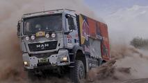 Red Bull truck, Rallye Dakar 2009, Peter Reif, 15.01.2009, Fiambala, Argentina