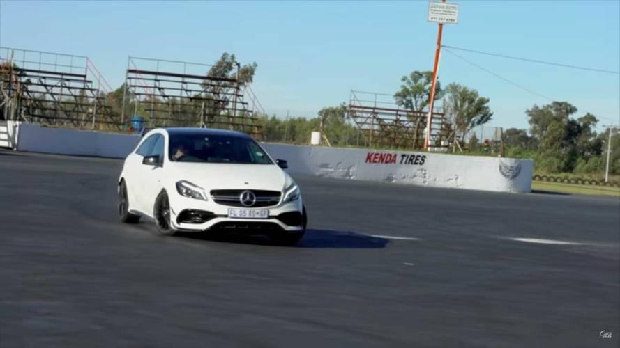 Audi RS3 vs Mercedes-AMG A45 Drift Yarışması