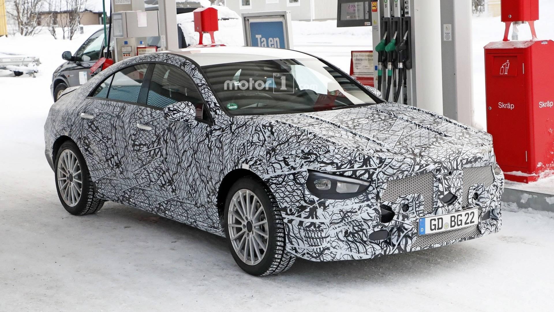 2019 - [Mercedes-Benz] CLA II - Page 2 2019-mercedes-cla-spy-photo
