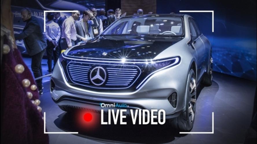 Mercedes EQ, al CES 2017 il futuro è elettrico [VIDEO]