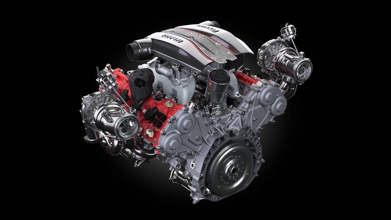 8 cylindres - Moteur V8 3,9 L de Ferrari